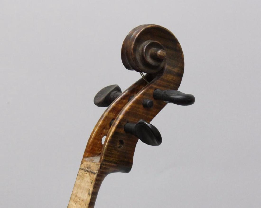 Pair of Unlabeled Violins - 8