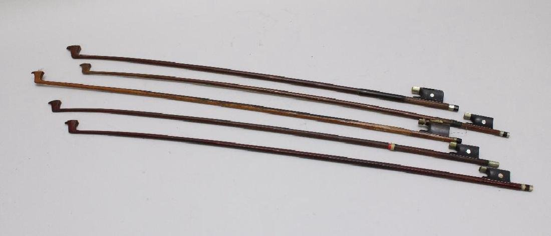 Collection of (5) Violin Bows - 2