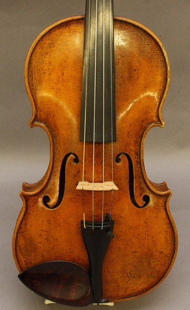 Georges Chanot, Labeled Violin - 2