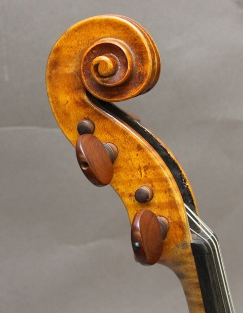 Georges Chanot, Labeled Violin - 3