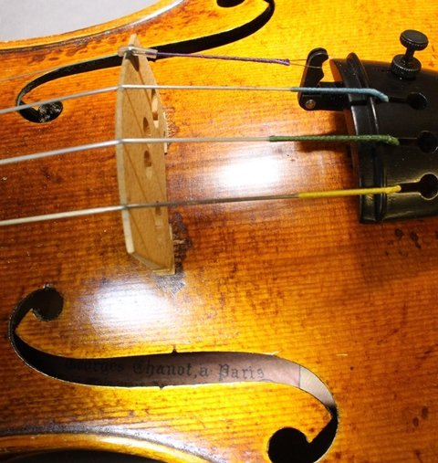 Georges Chanot, Labeled Violin - 6