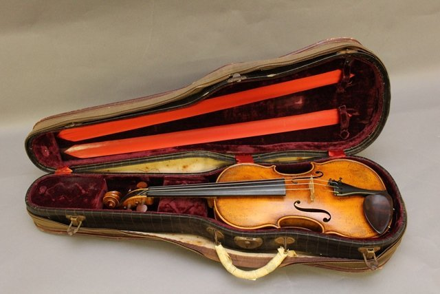 Georges Chanot, Labeled Violin - 7