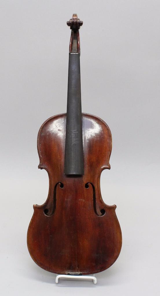 Lauten and Geigenmacher Saxon Violin