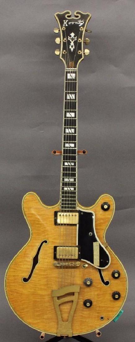 Sam Koontz Hollow-Body Electric Guitar