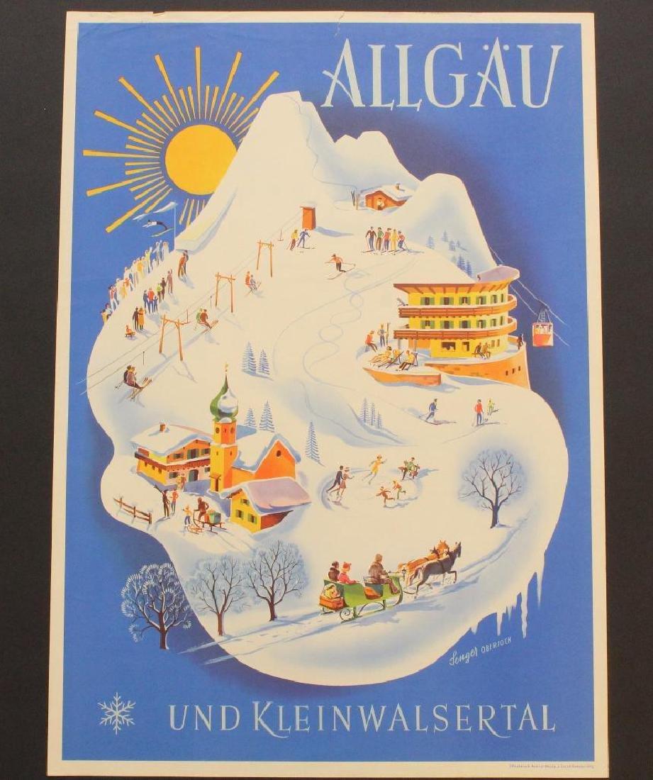Allgau Travel Poster