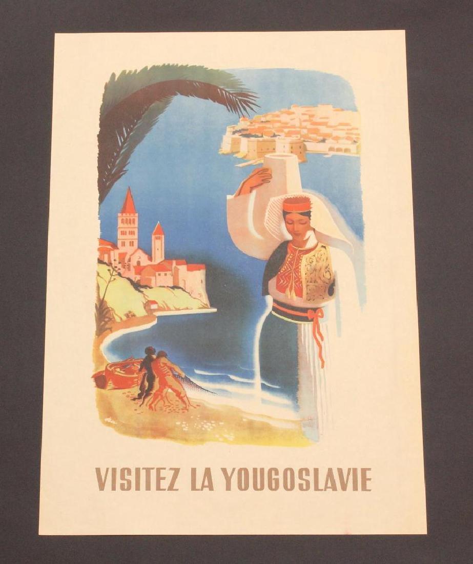 Yugoslavian Travel Poster