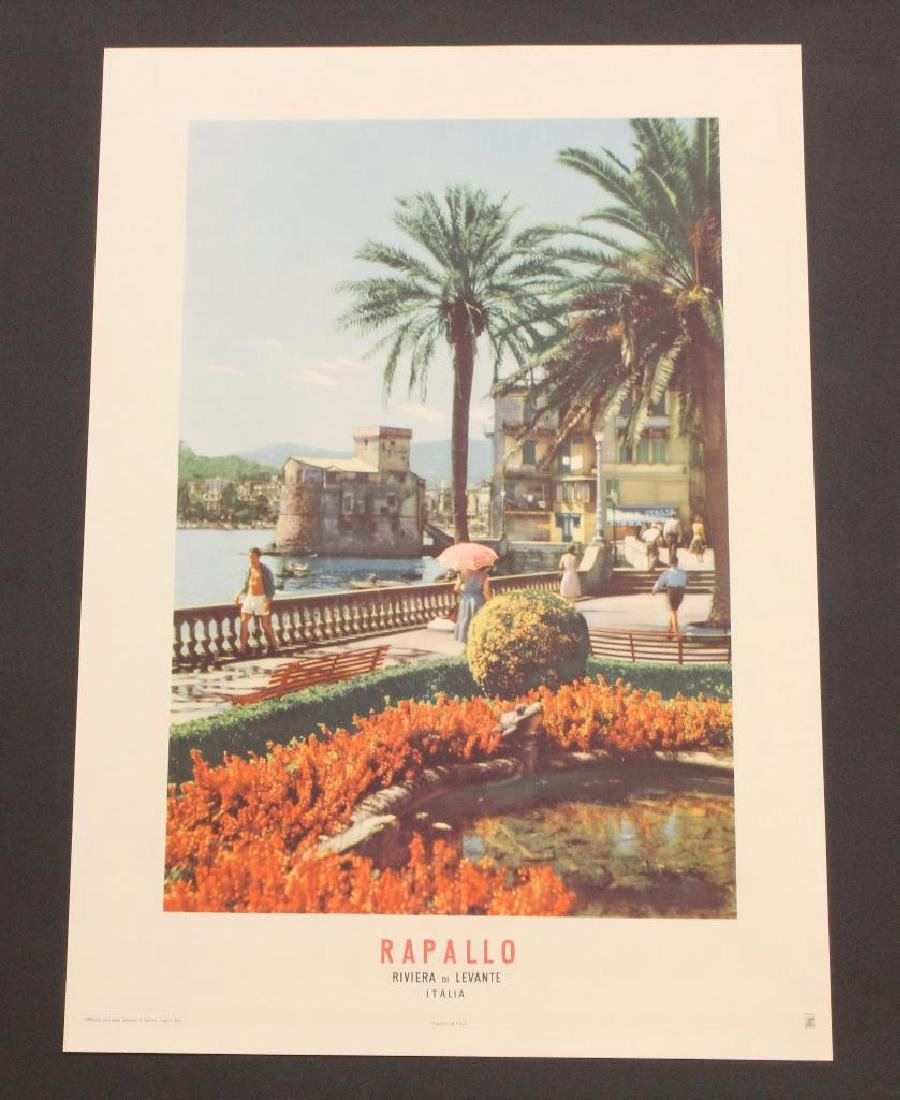 Grouping of Italian Travel Posters