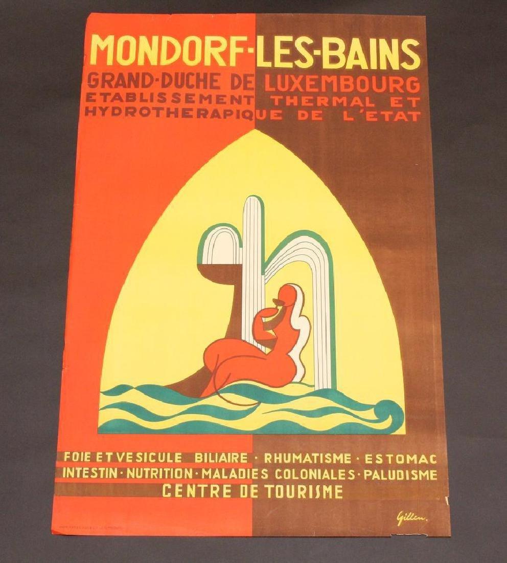 Luxemburg Travel Poster