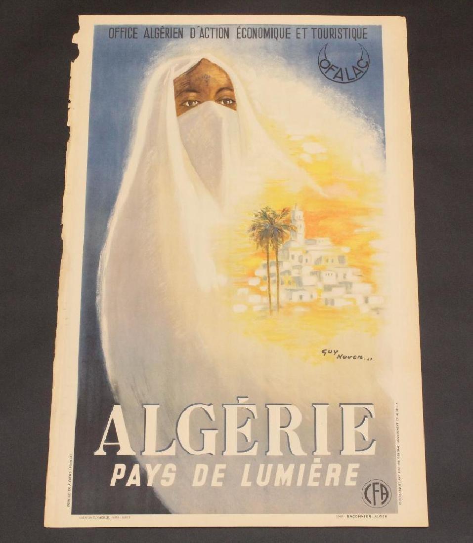 Algerian Travel Poster