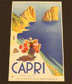 Capri Travel Poster