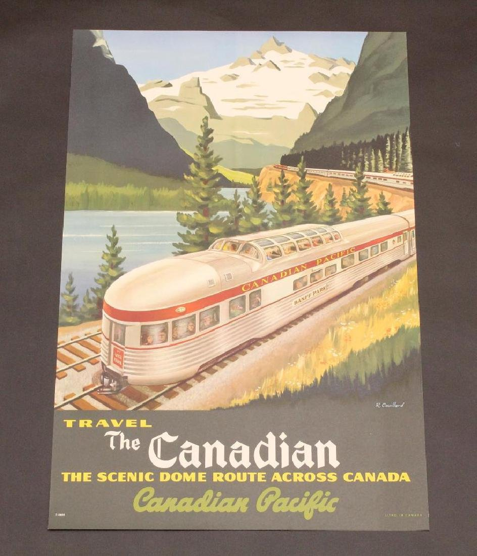Canadian Train Poster - Canadian Pacific Railroad