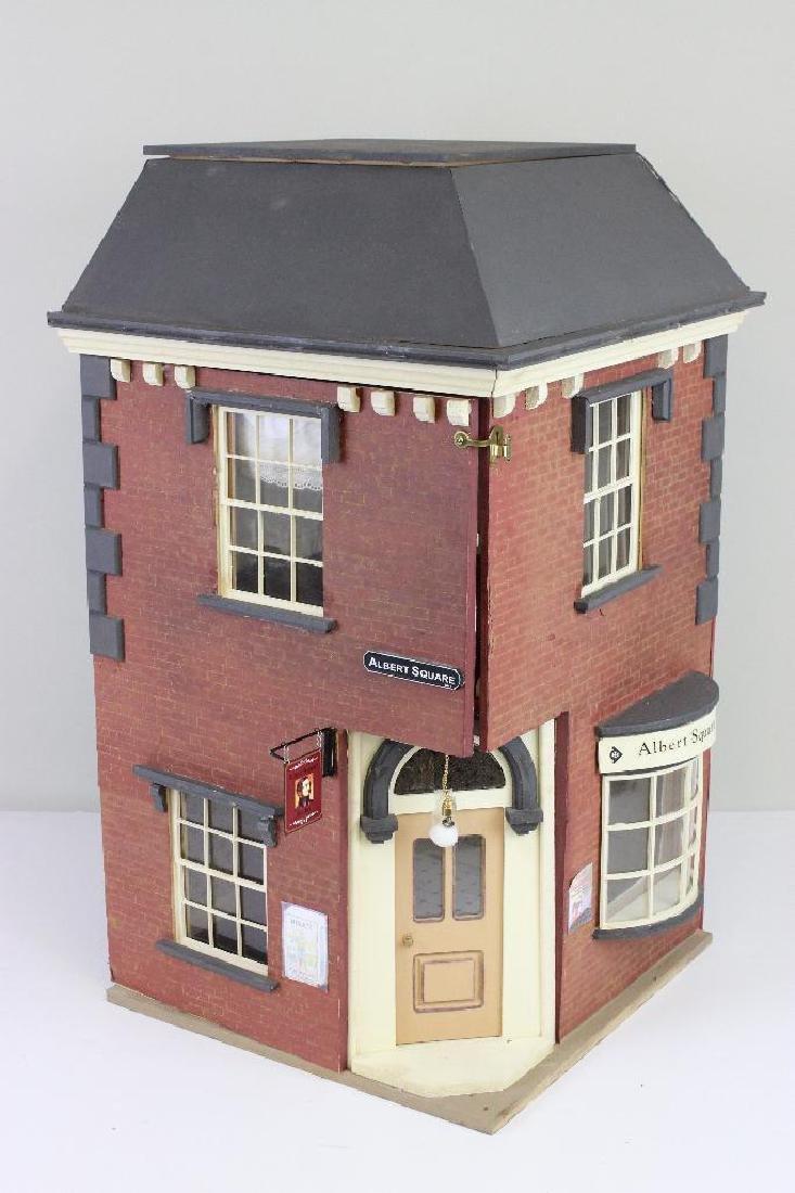 Albert Square Barbershop Bldg Dollhouse