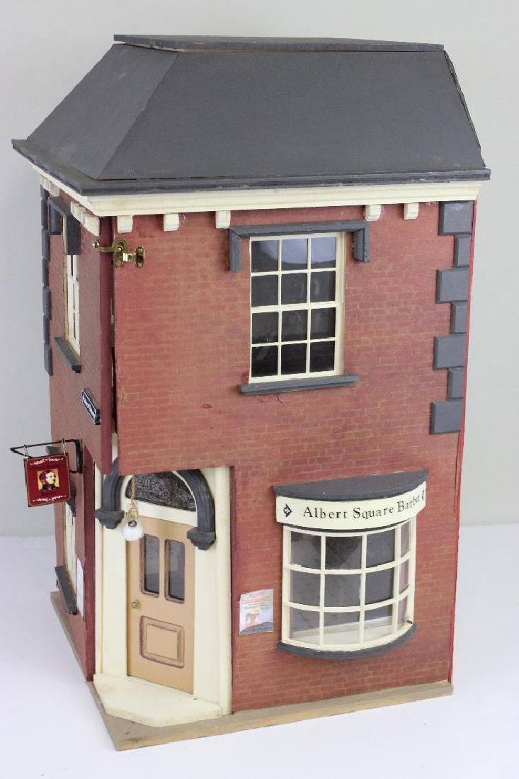 Albert Square Barbershop Bldg Dollhouse - 2