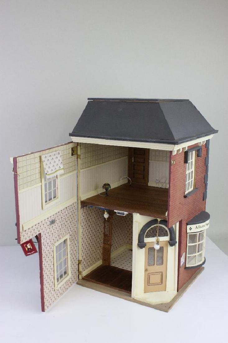 Albert Square Barbershop Bldg Dollhouse - 3