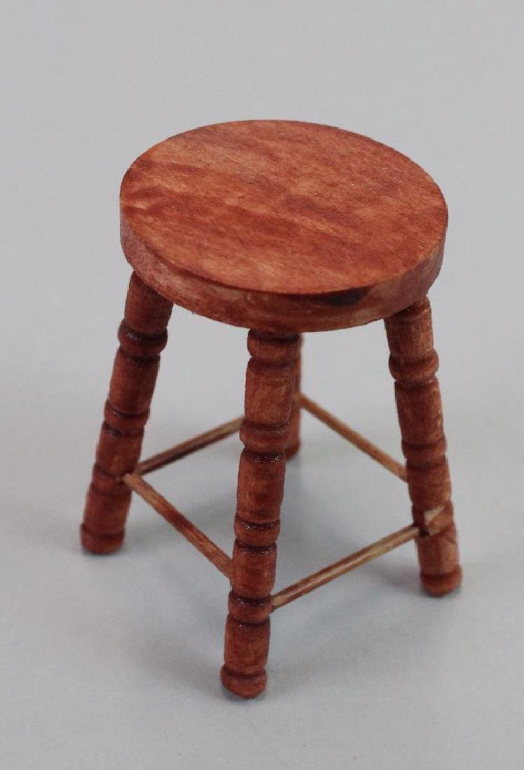 Shoeshine chair, stool and box - 5