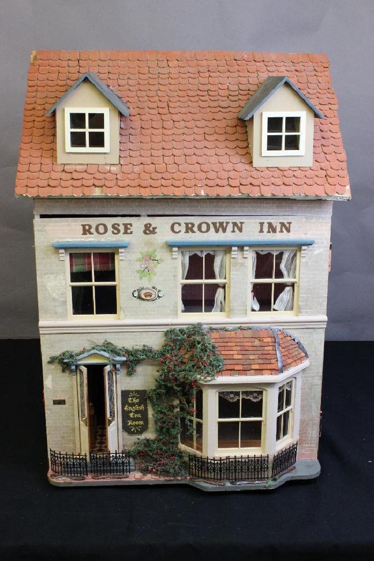 The Rose & Crown Inn Dollhouse