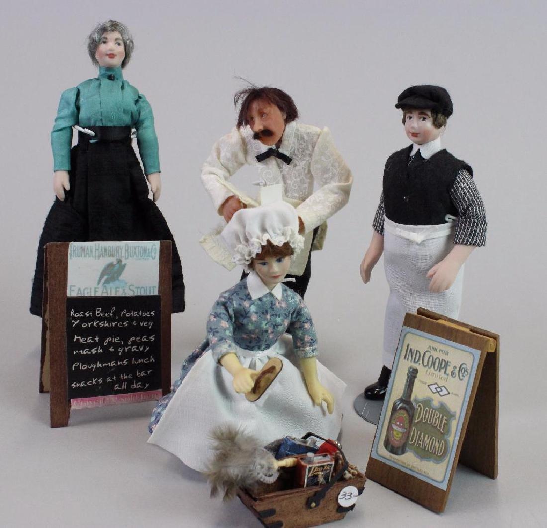 Maid dill, Pub Waiter, Porter, Receptionist