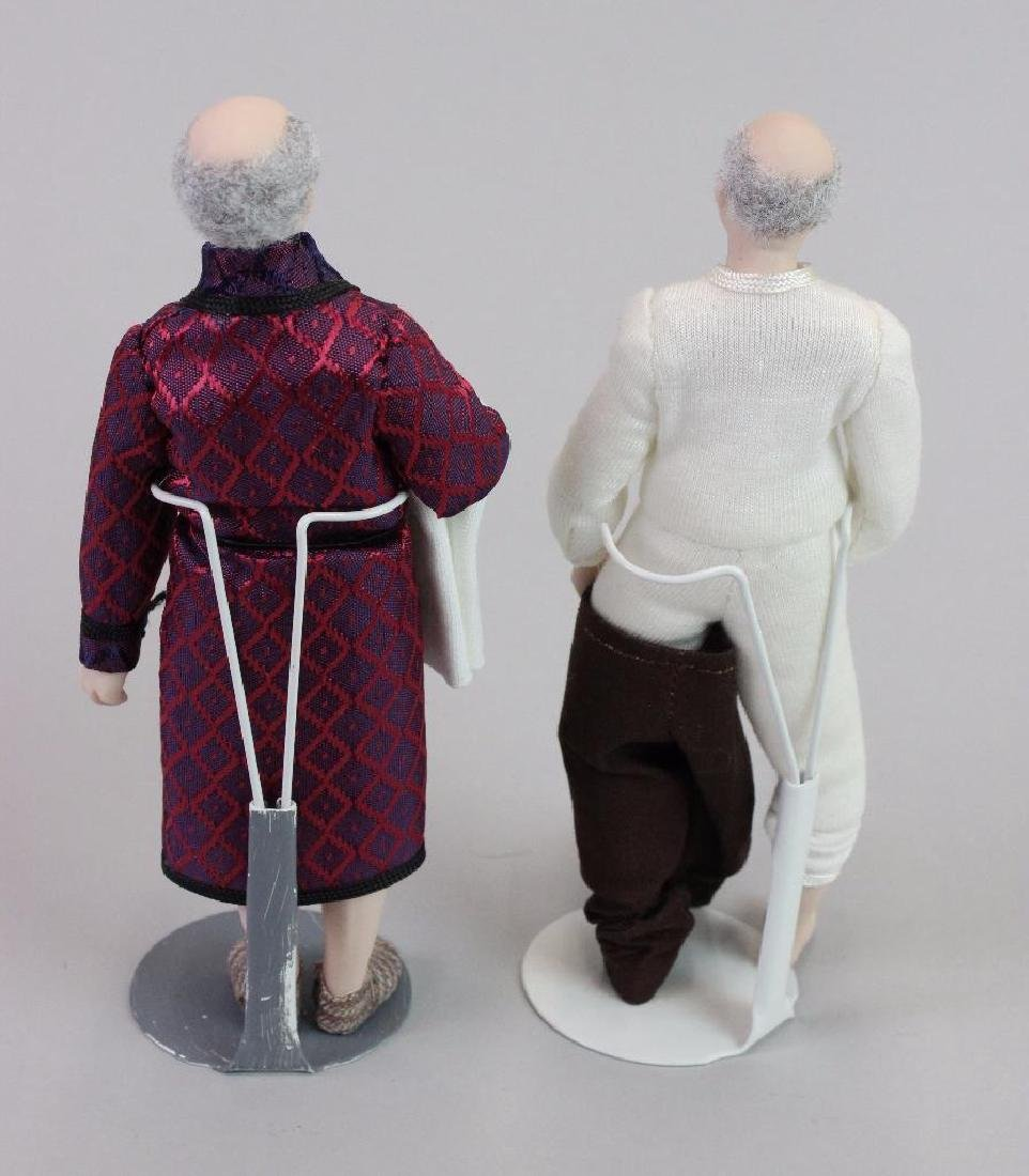 Man doll in robe and Man dressing - 2