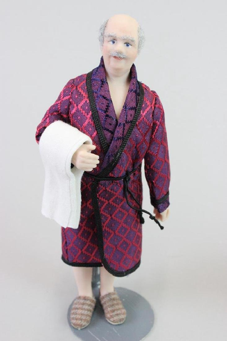 Man doll in robe and Man dressing - 3
