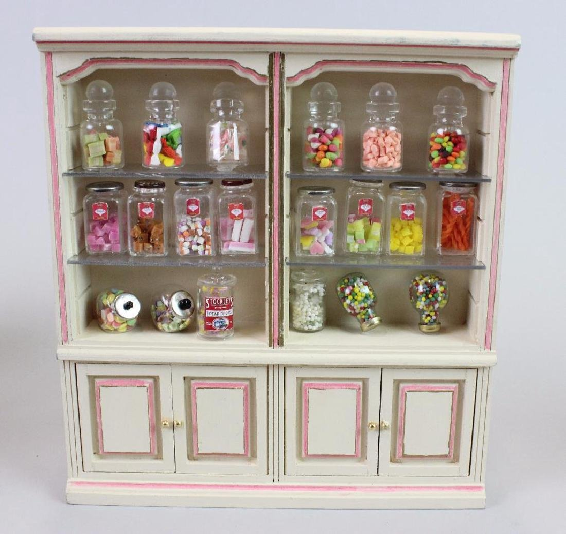 Kitchen cupboard; Easter candy; Candy display cabinets - 6