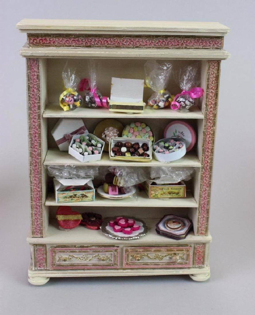 Kitchen cupboard; Easter candy; Candy display cabinets - 7