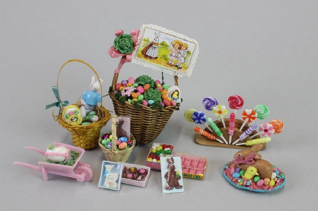 Kitchen cupboard; Easter candy; Candy display cabinets - 9