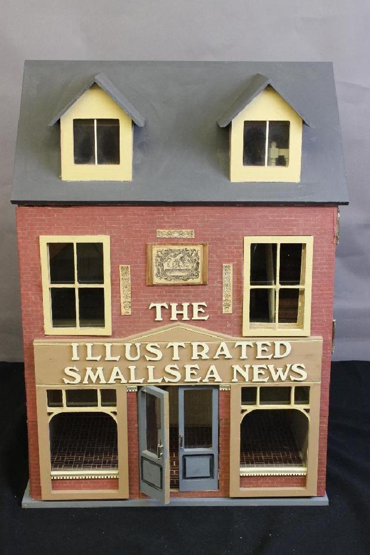 Illustrated Smallsea News Dollhouse