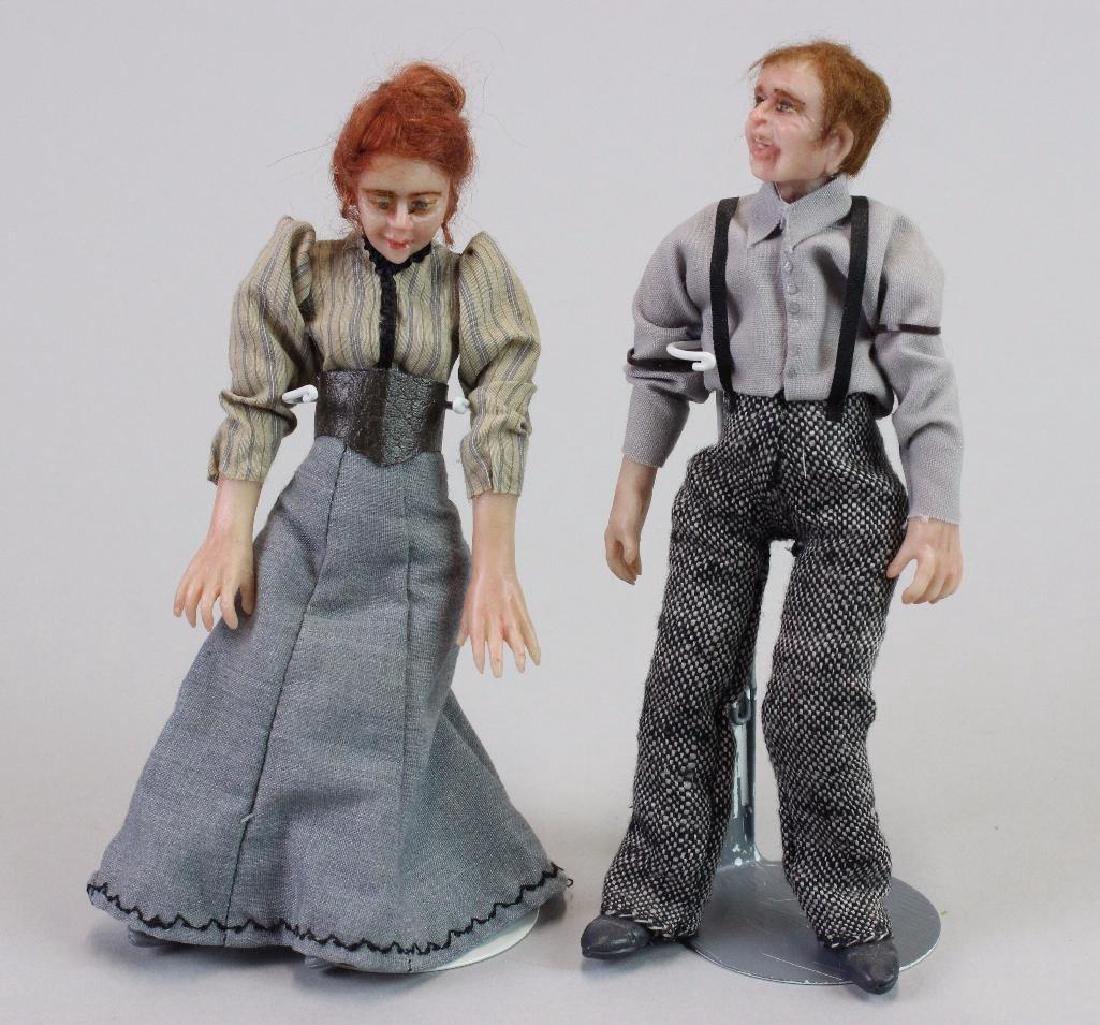 Typist and Art Director Dolls
