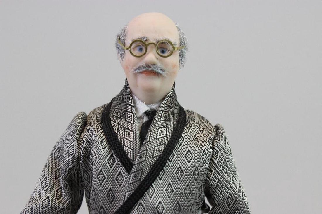 Art Dealer's Apartment - Art dealer doll - 3