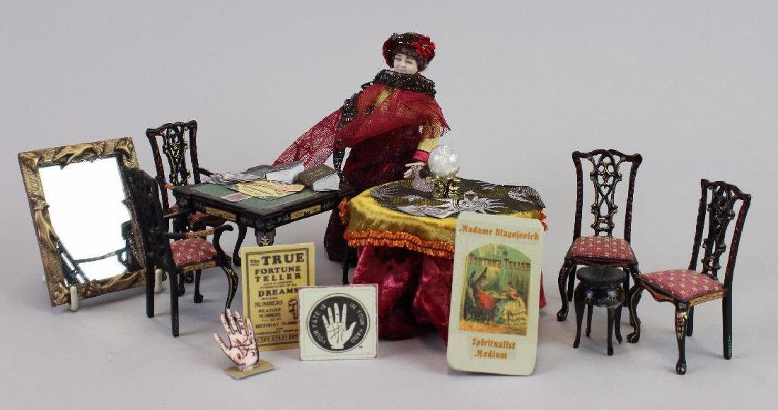 Wine and Spirits Shop-Fortune Teller table crystal ball