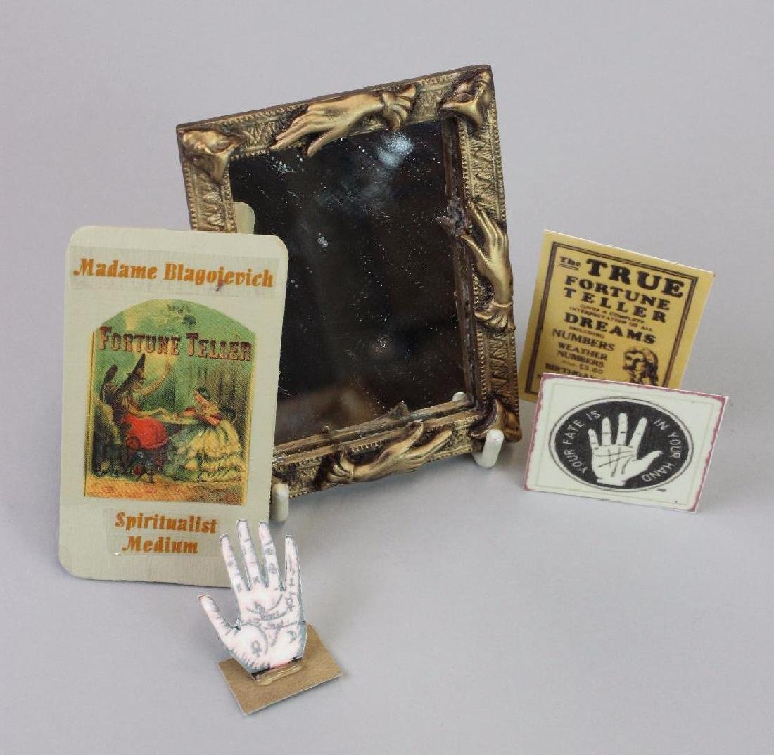Wine and Spirits Shop-Fortune Teller table crystal ball - 4