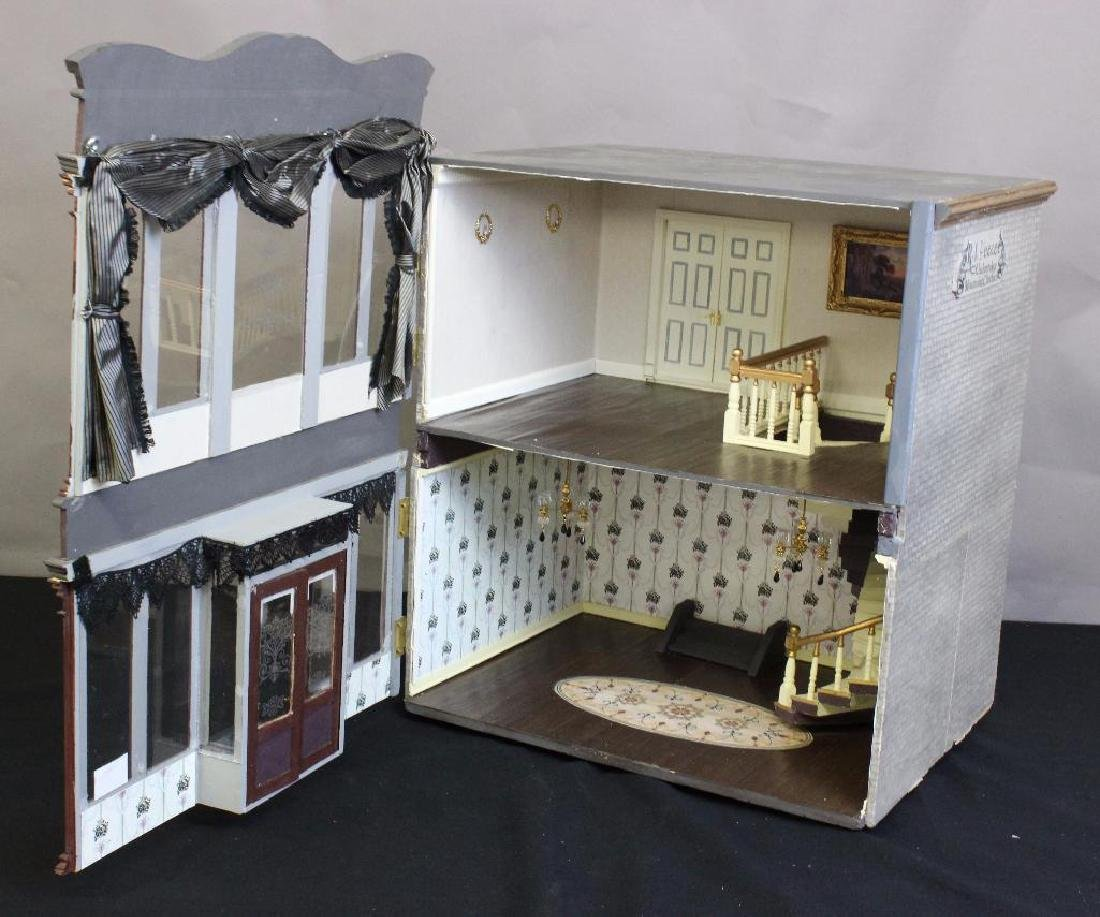 R.I. Peece Undertakers and Mourning Clothiers Dollhouse - 2