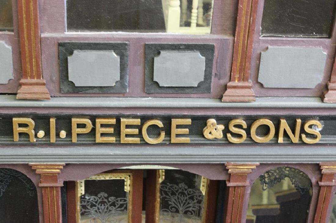 R.I. Peece Undertakers and Mourning Clothiers Dollhouse - 4