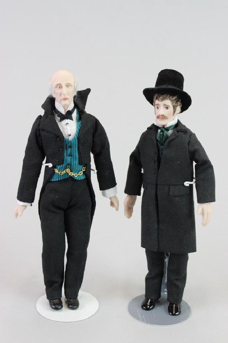 Undertaker doll and Assistant doll