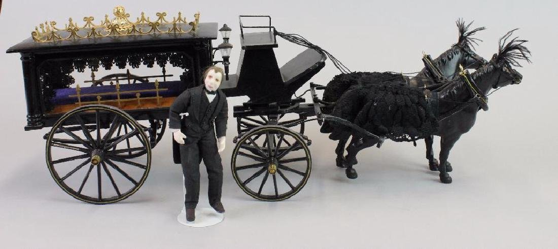 Hearse Carriage and Undertaker's carriage driver