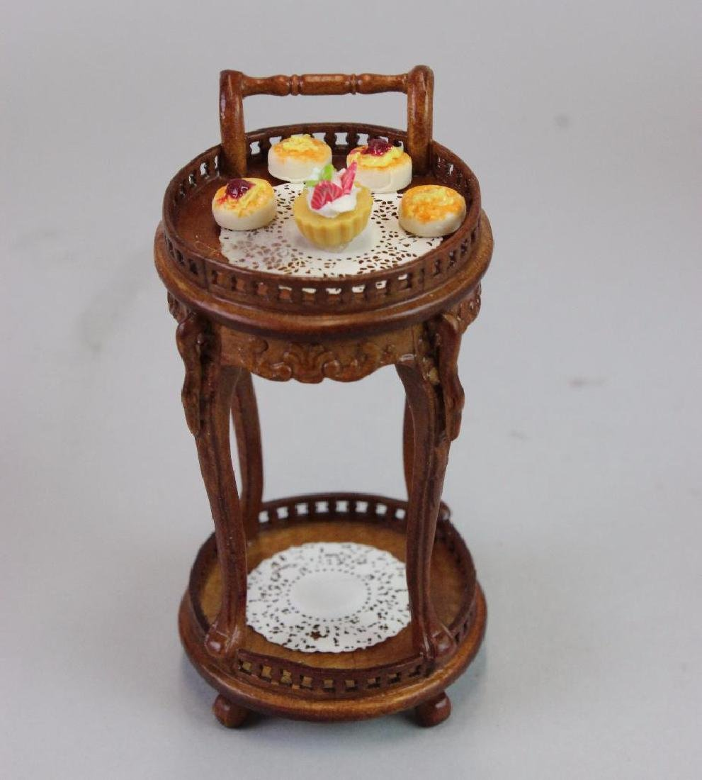 Tables chairs Bespaq; Tea cart urn;pedestal w pastries - 4