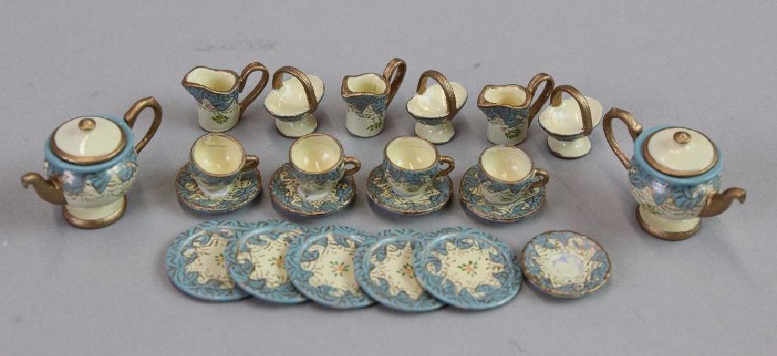 2 complete tea sets