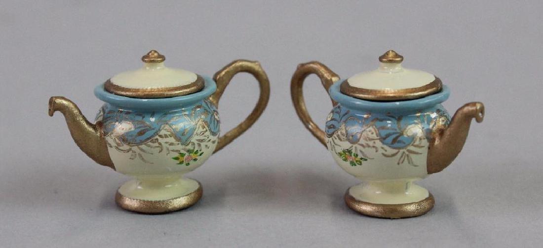 2 complete tea sets - 2
