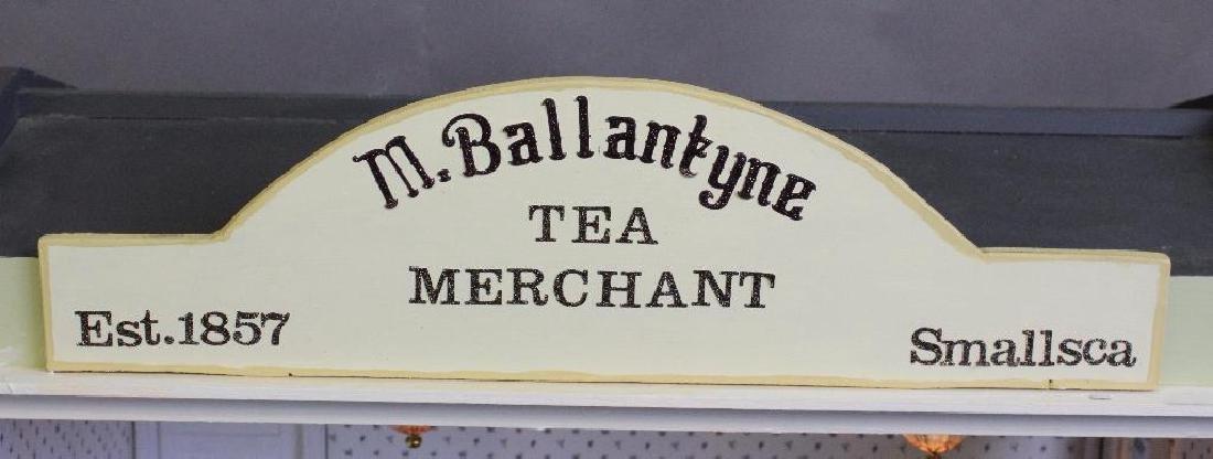 Baby&Children Shop/Ballantyne's Tea Merchant Dollhouse - 4
