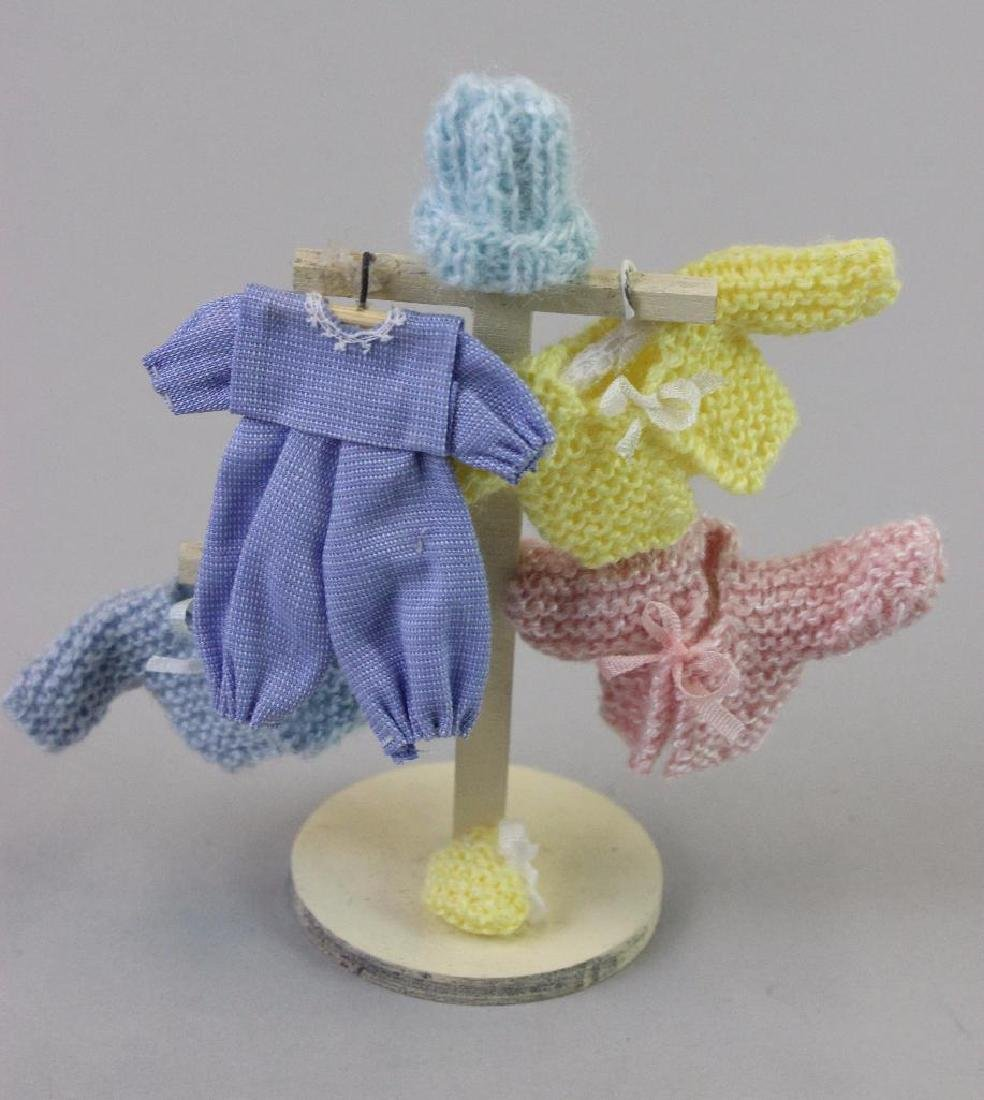 Display stand for window, clothes, knitted items, box - 4