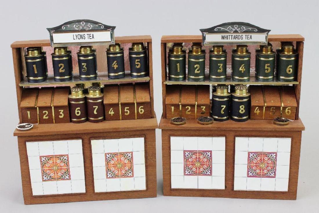 2 tea displays and 1 coffee display - custom - 3