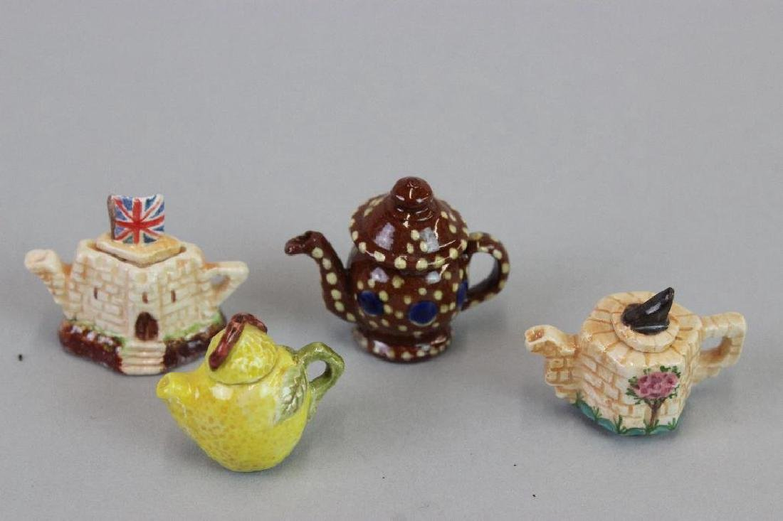 "Tea canisters; porcelain teapots, ""pouring "" tea pot - 3"