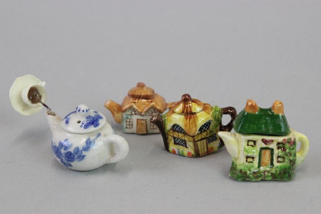 "Tea canisters; porcelain teapots, ""pouring "" tea pot - 5"