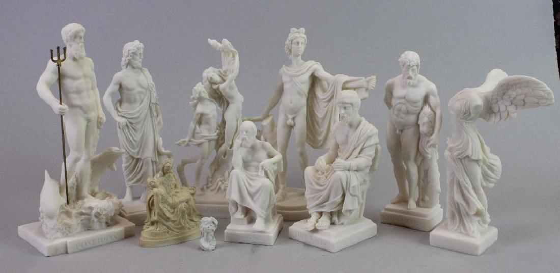 Plaster statues for Museum (never built)