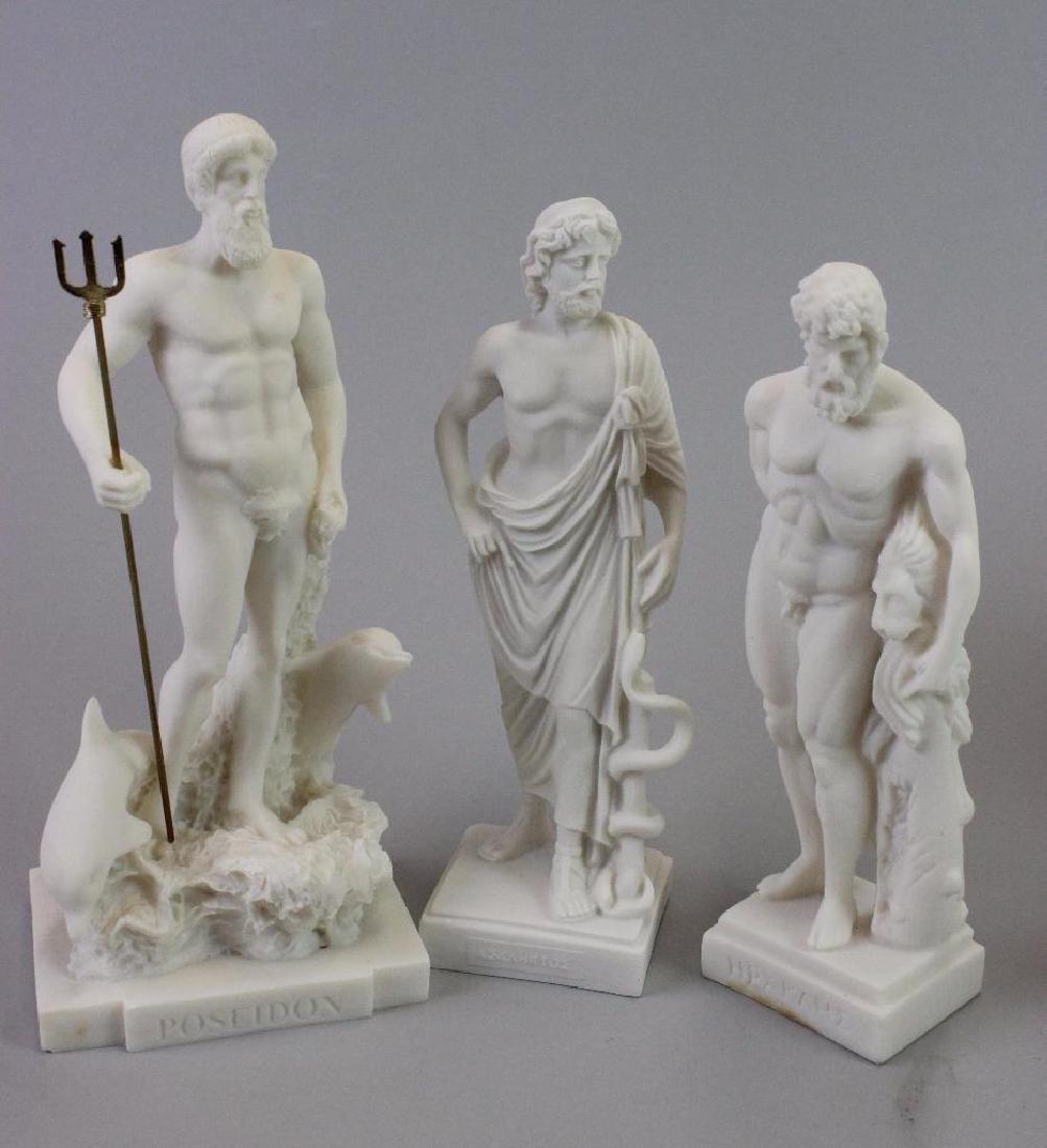 Plaster statues for Museum (never built) - 4