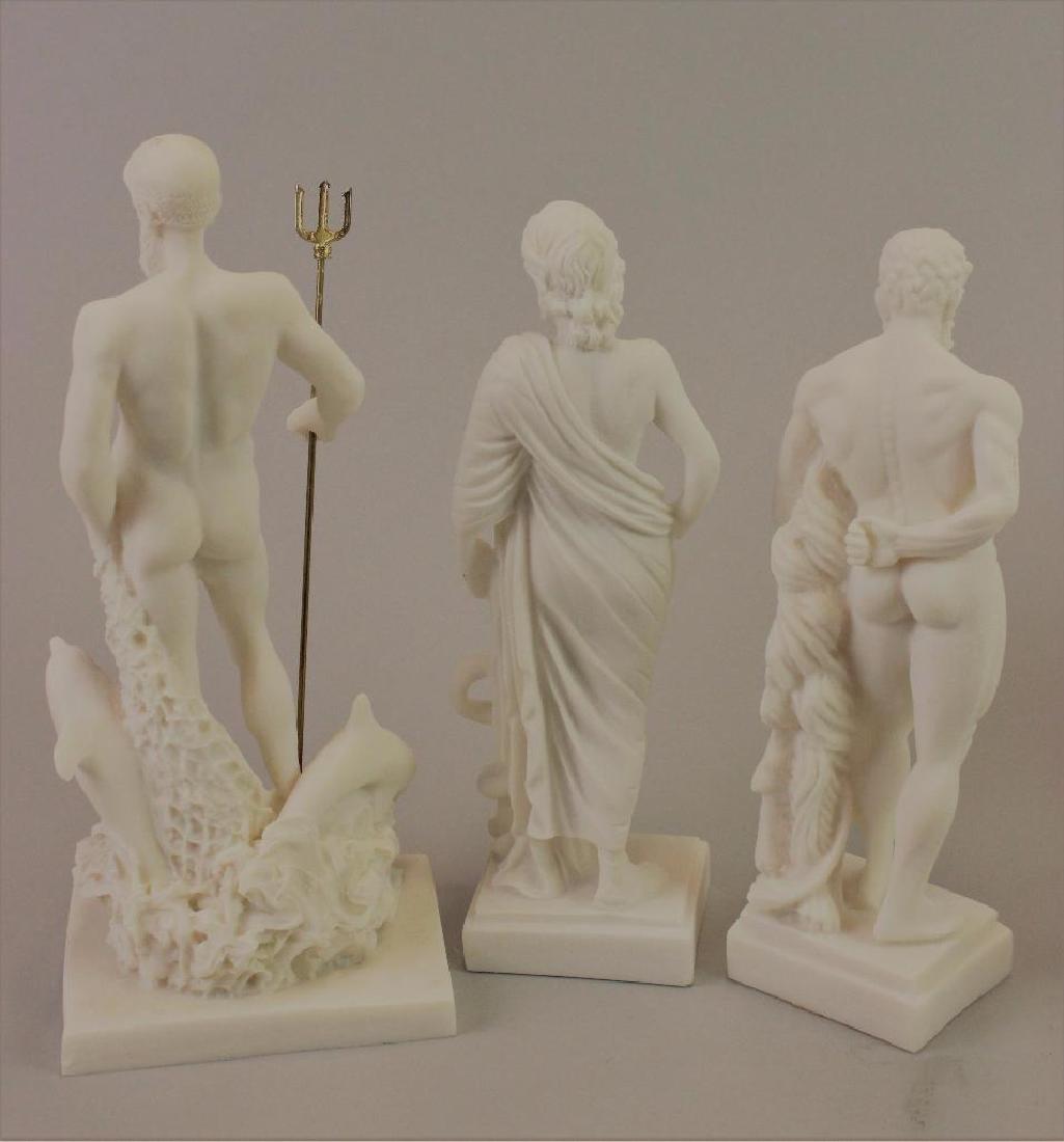 Plaster statues for Museum (never built) - 5