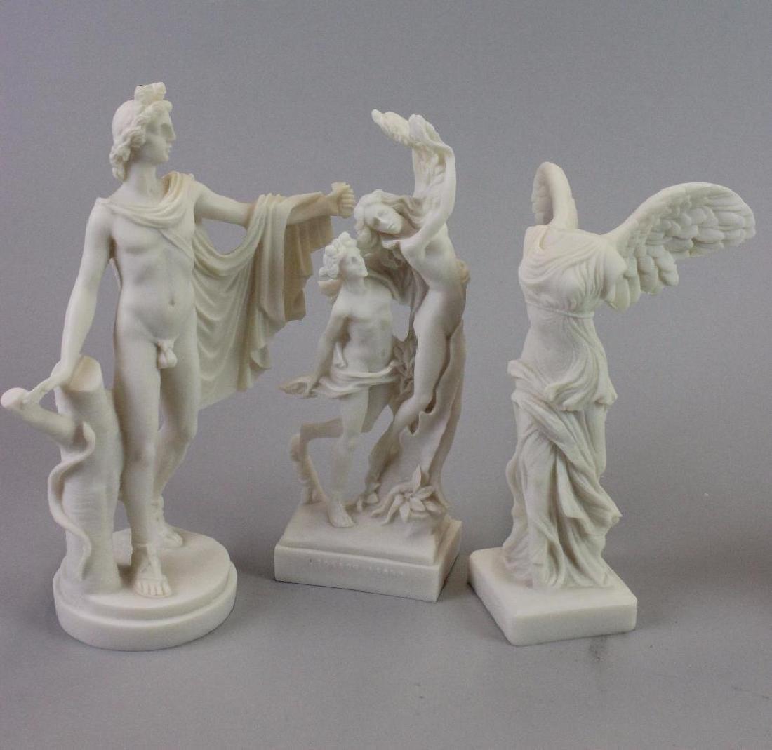 Plaster statues for Museum (never built) - 6