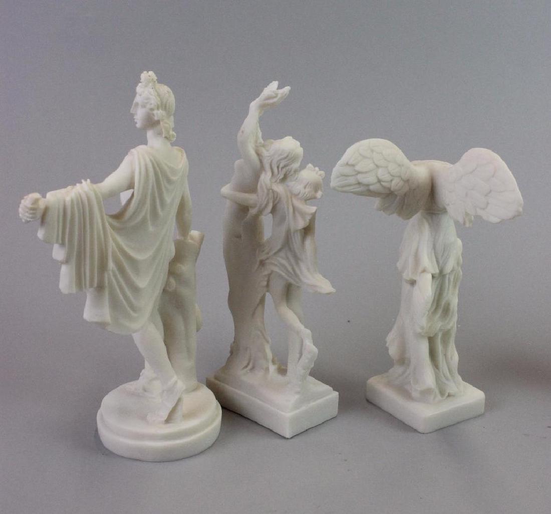 Plaster statues for Museum (never built) - 7