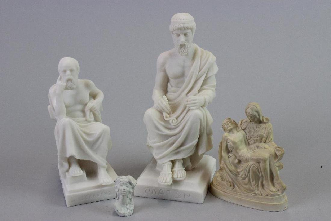 Plaster statues for Museum (never built) - 8