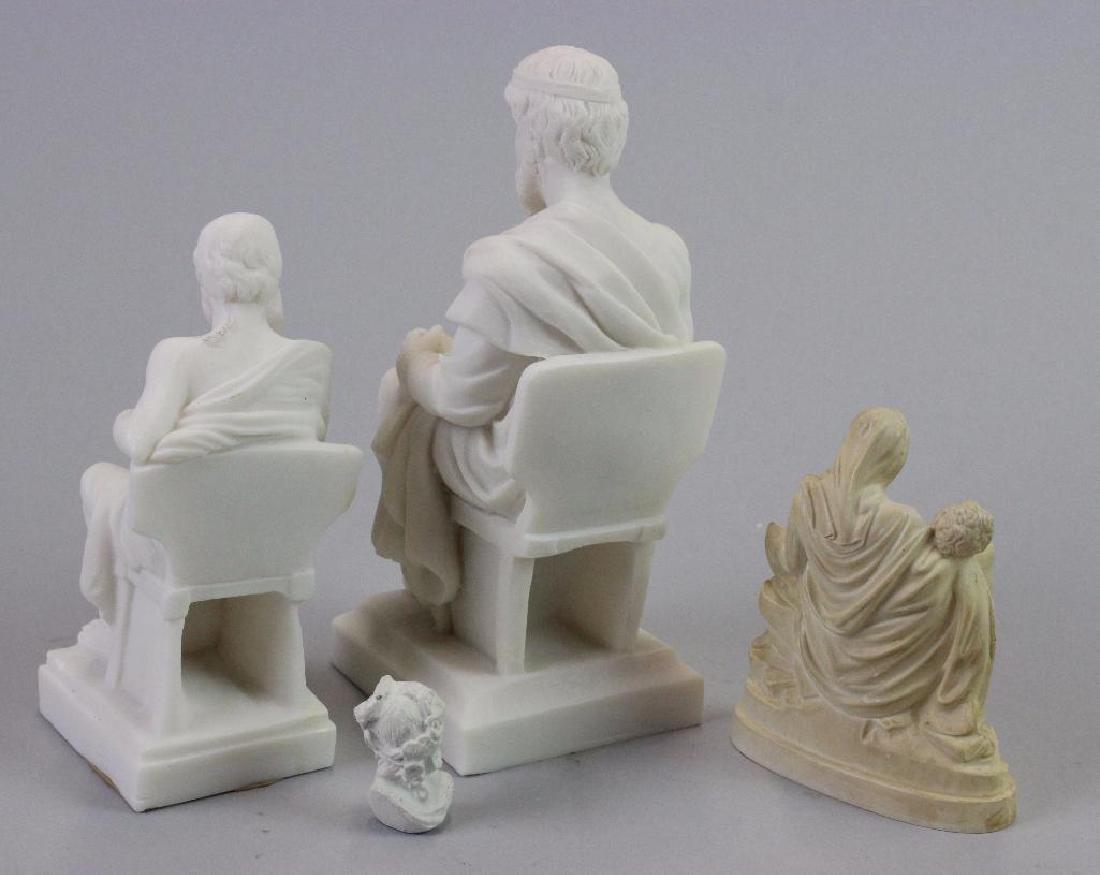 Plaster statues for Museum (never built) - 9